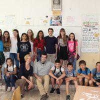 Посещение на чуждестранни студенти-участници в международната програма Еразъм +